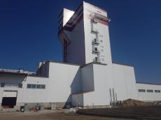 Начало строительства премиксного завода Ottevanger 10 тонн в час для Мираторг в Брянской области