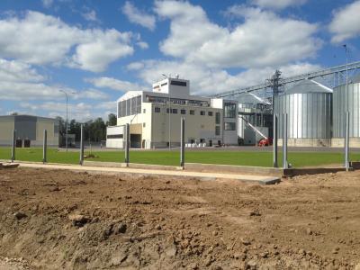 Завод по производству комбикормовых кормов производительностью 30т/ч.