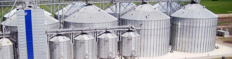 Монтаж технологического оборудования и инженерных систем, предприятий по хранению зерна